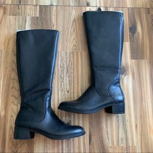 Franco Sarto tall leather riding boots
